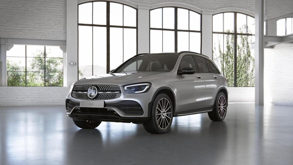 Giá xe Mercedes GLC 300 được niêm yết ở mức 2,559 tỷ đồng
