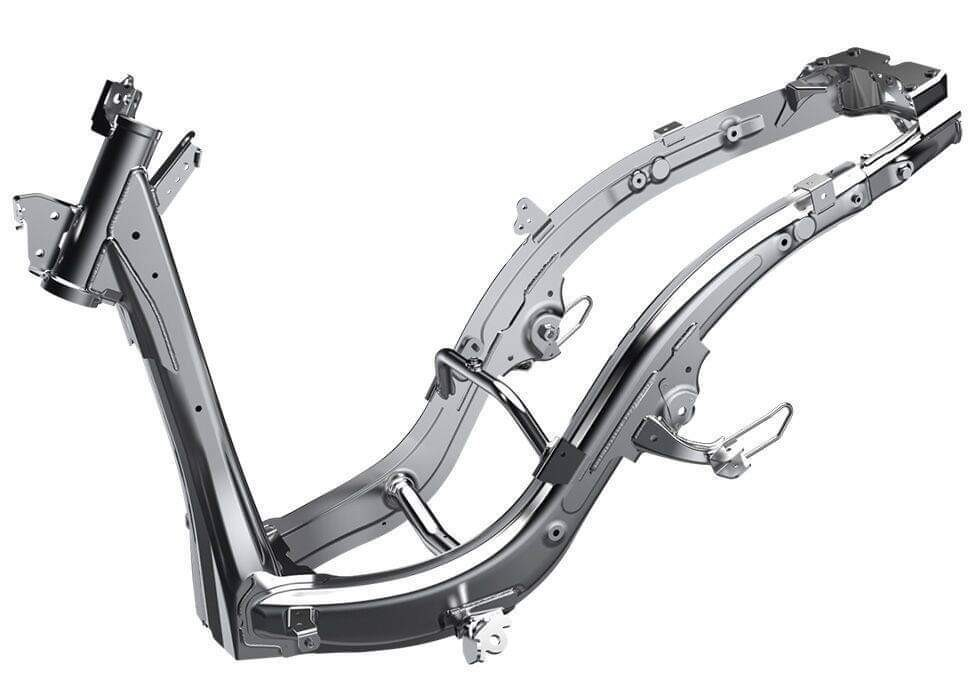The new frame will be integrated on the Honda Beat 2020