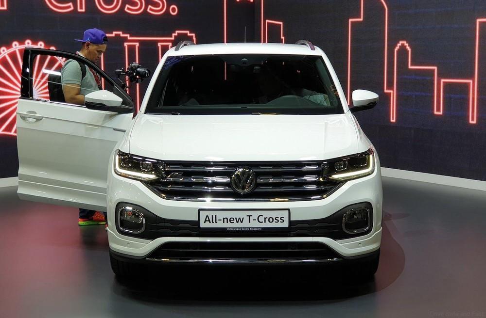 Cận cảnh thiết kế đầu xe của Volkswagen T-Cross