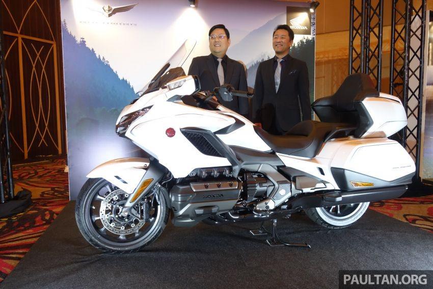 Honda Gold Wing 2020 tại Malaysia