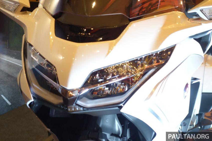 Hệ thống chiếu sáng LED trên Honda Gold Wing 2020