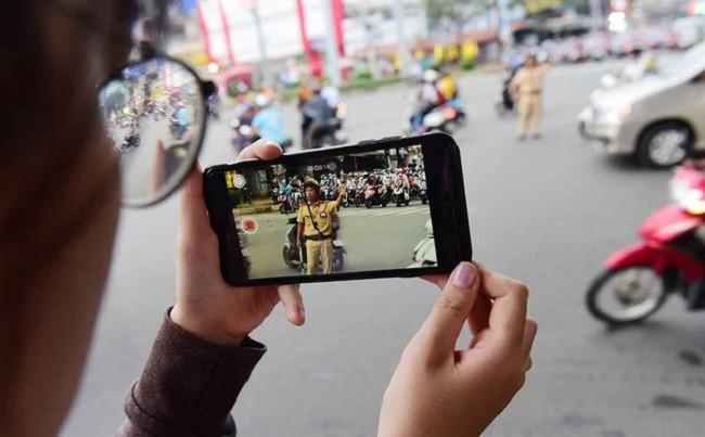 Từ ngày 15/1/2020, người dân được ghi hình, ghi âm CSGT làm nhiệm vụ