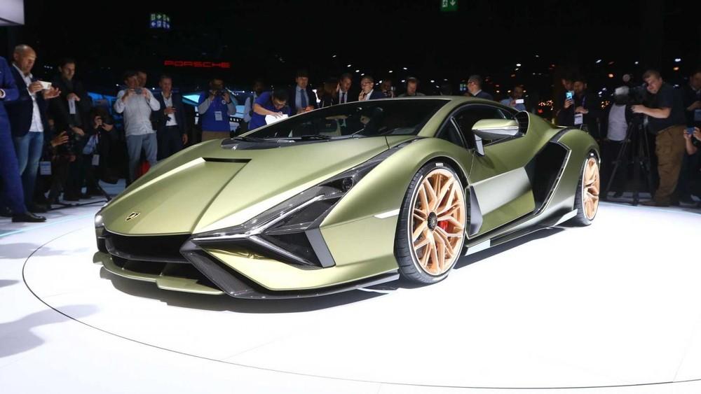 Siêu xe Lamborghini Sian FKP37