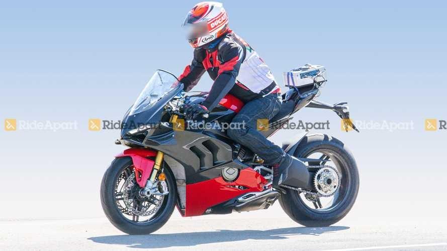 The Ducati Panigale V4 Superleggera ran a test