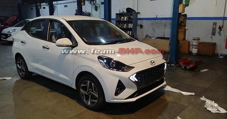 Hyundai Aura 2020 xuất hiện tại đại lý trước ngày bán ra thị trường Ấn Độ