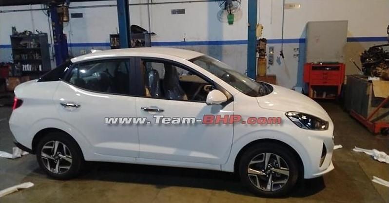 Thiết kế sườn xe của Hyundai Aura 2020