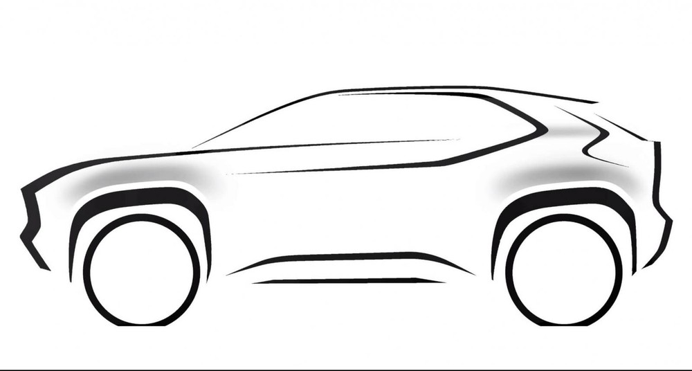 Concept image of SUV size B based on Yaris released by Toyota