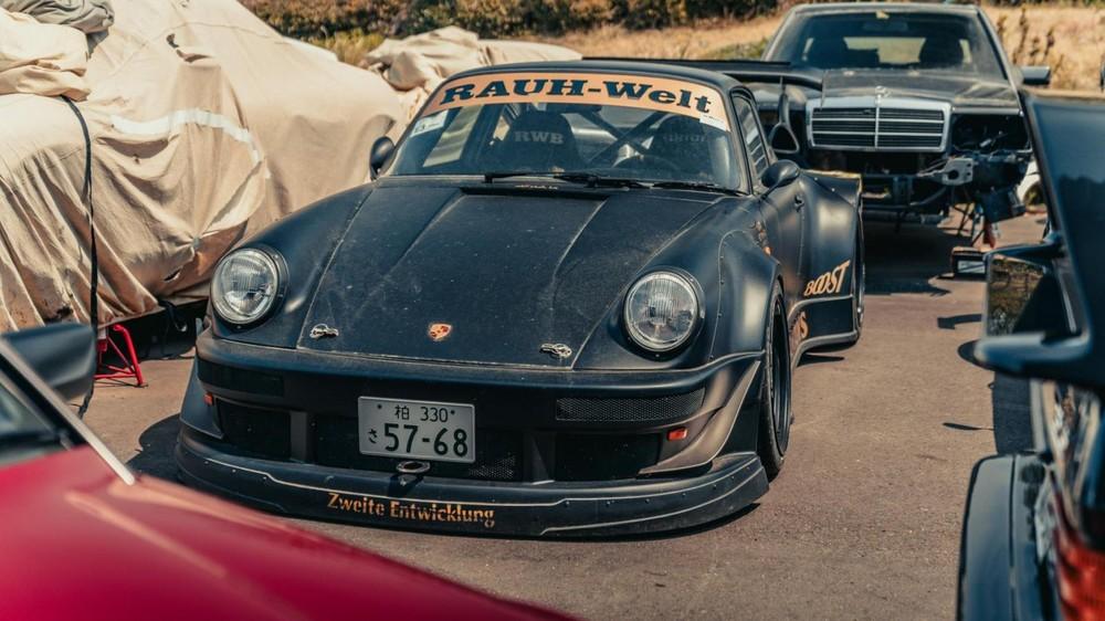 Chiếc Porsche 930 Stella lừng danh