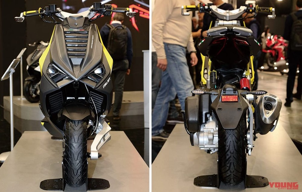 Dragster Itajet was introduced at EICMA 2019