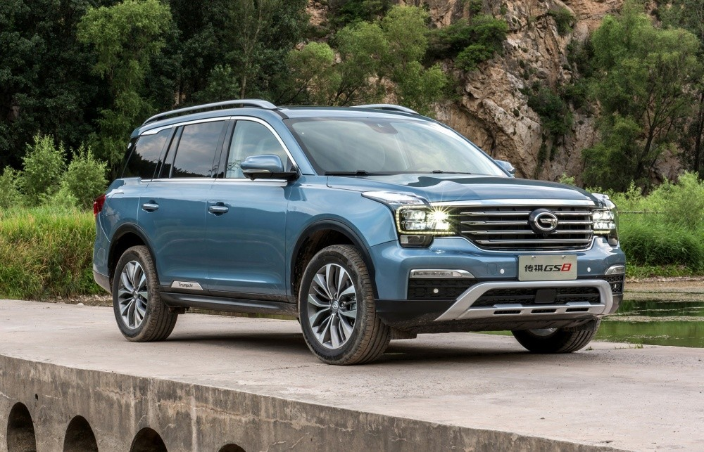 Trumpchi GS8 - midsize SUV model being sold in China