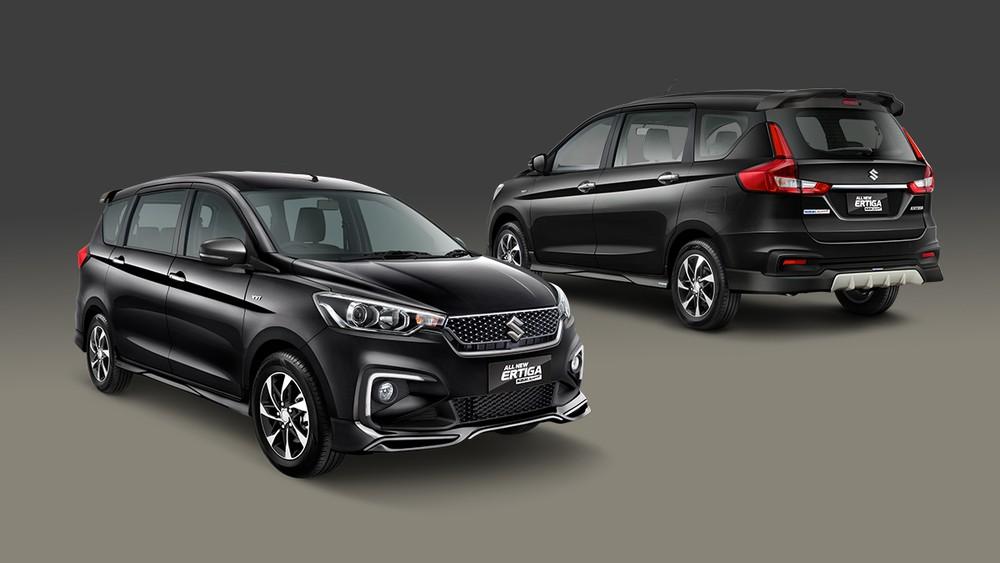 Suzuki Ertiga GLX 2020 sẽ có mâm hợp kim mới giống với bản Ertiga Sport tại Ấn Độ