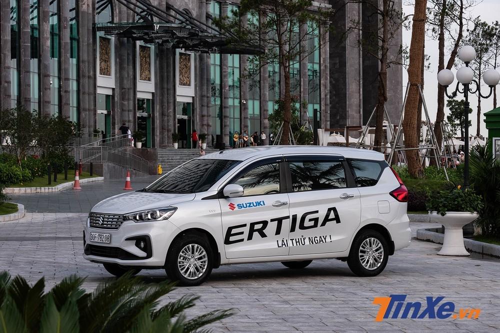 Suzuki Ertiga 2020 chỉ đơn thuần là bản nâng cấp nhẹ bổ sung thêm một số trang bị