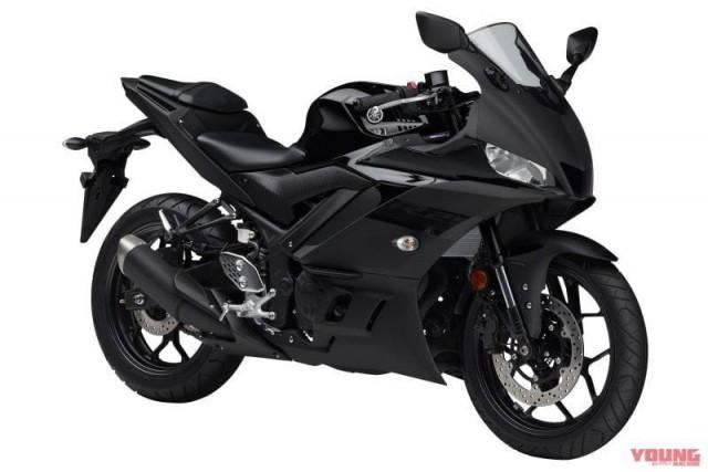 Yamaha R25 2020 màu đen nhám
