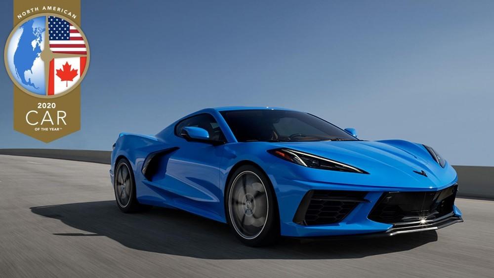 Chevrolet Corvette thế hệ thứ 8 đã lên ngôi quán quân trong cuộc bình chọn Xe của năm tại thị trường Bắc Mỹ