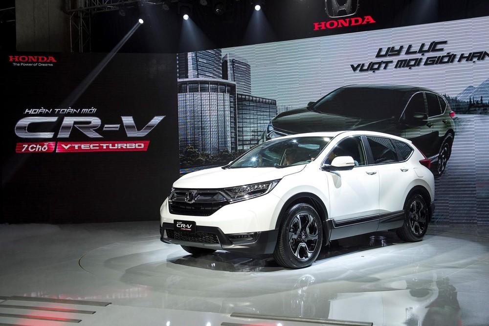Honda CR-V là mẫu xe bán chạy nhất của Honda Việt Nam trong năm 2019 với mức tăng trưởng lên tới 50% so với năm 2018