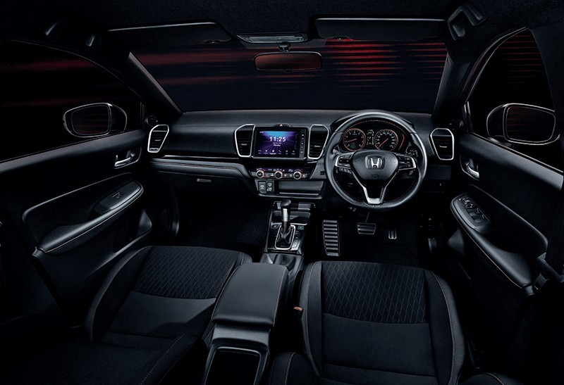 Interior inside Honda City 2020 in Thailand