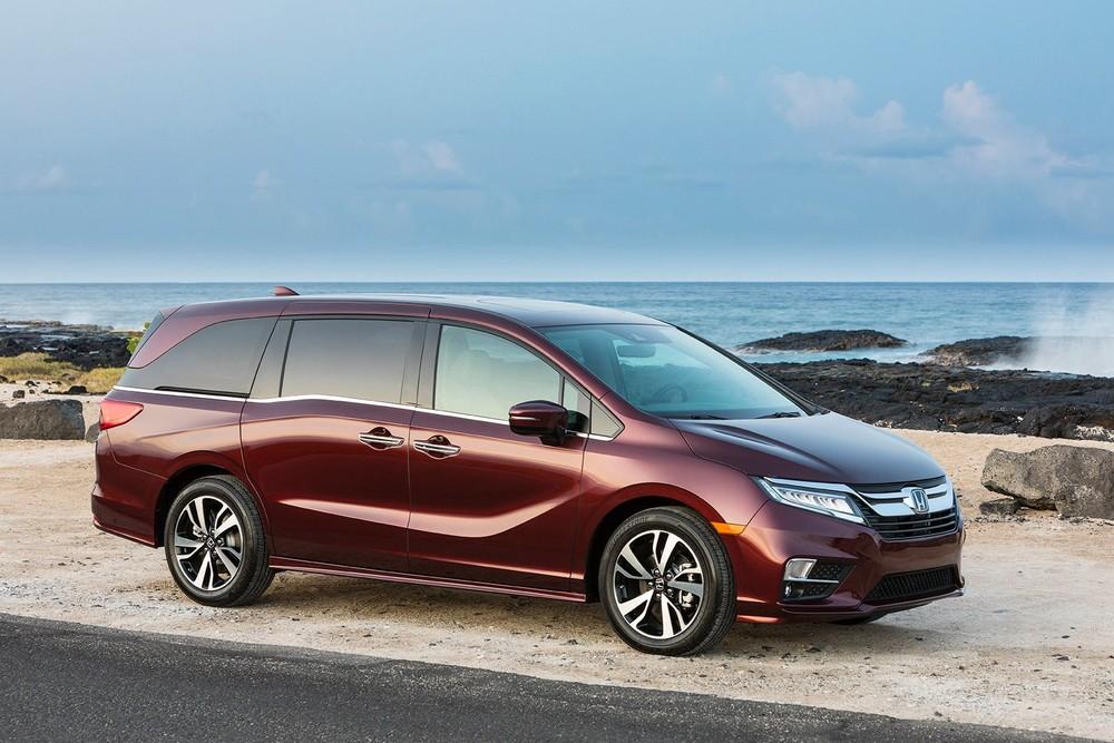 Honda Odyssey là 1 trong 2 mẫu xe minivan có trong danh sách