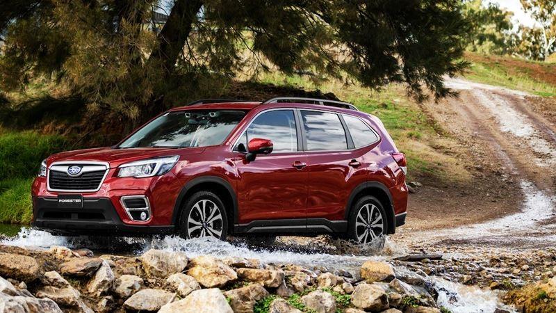 Forester là đại diên duy nhất của thương hiệu Subaru trong danh sách
