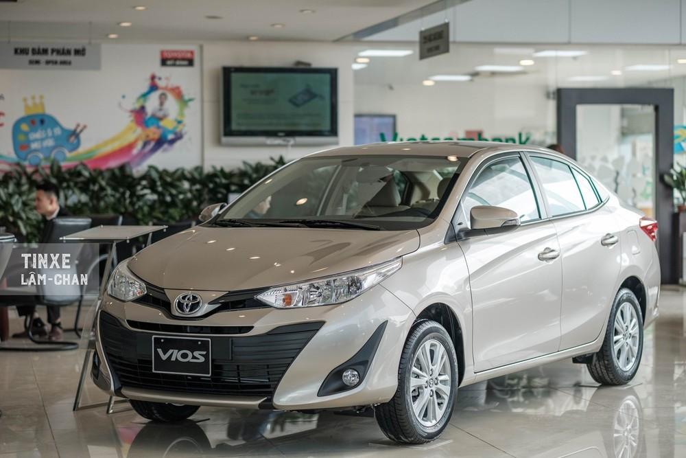Toyota Vios tiếp tục là mẫu ô tô bán chạy nhất Việt Nam trong năm 2019
