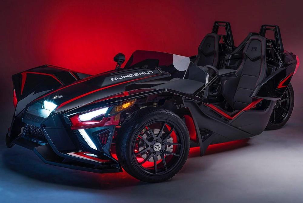 Polaris Slingshot 2020 là chiếc xe 3 bánh ngầu nhất thị trường vào lúc này