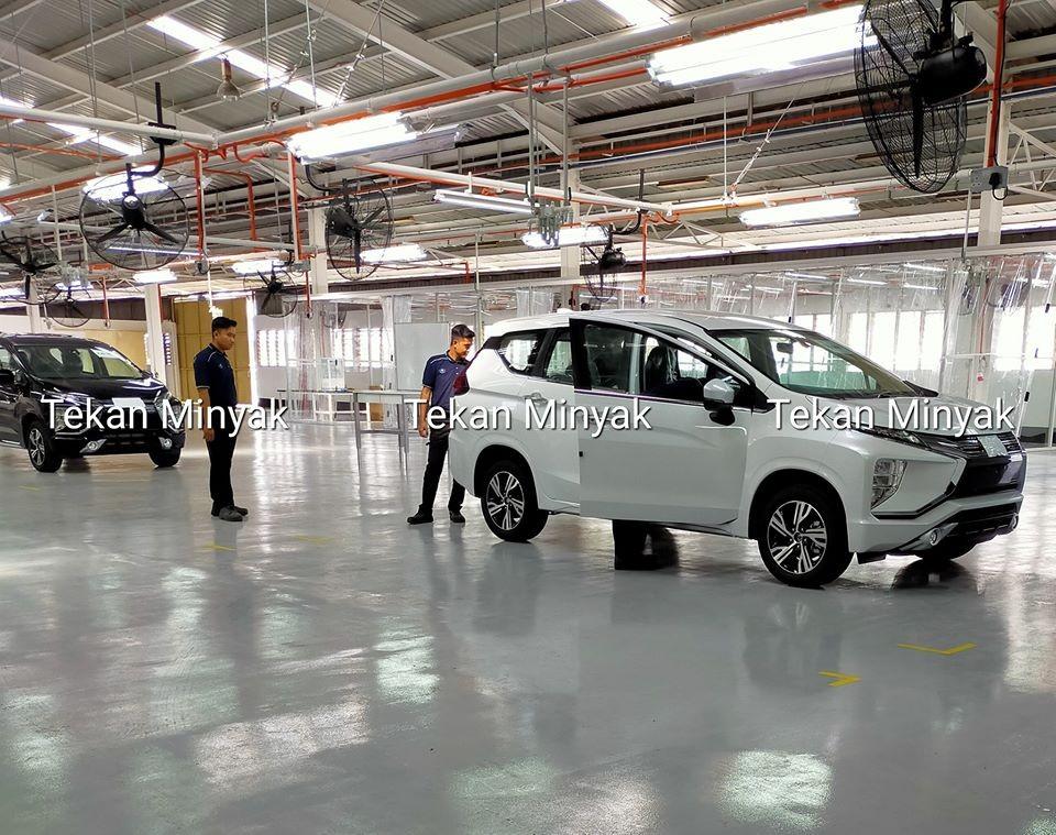 Photos of Mitsubishi Xpander 2020 taken in the factory