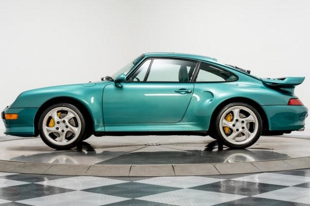 The first is that the 1997 Porsche 993 Turbo S sports car was made by a former owner of a very expensive personalization program and no other second vehicle like that was produced.