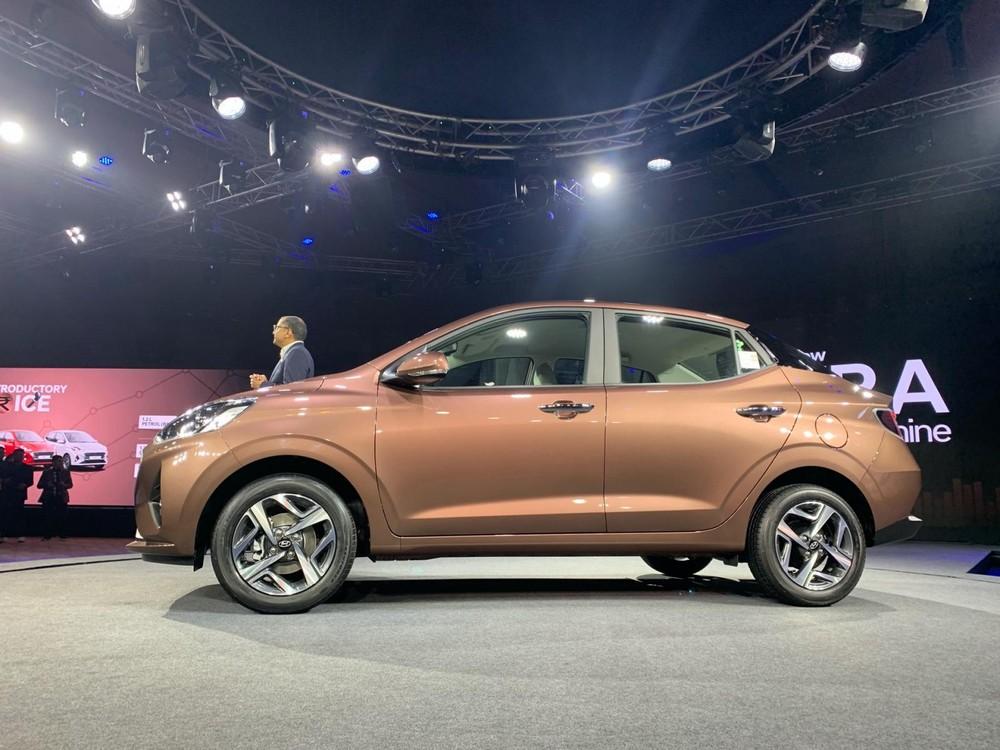 Hyundai Aura 2020 là mẫu sedan đô thị dài chưa đến 4 m