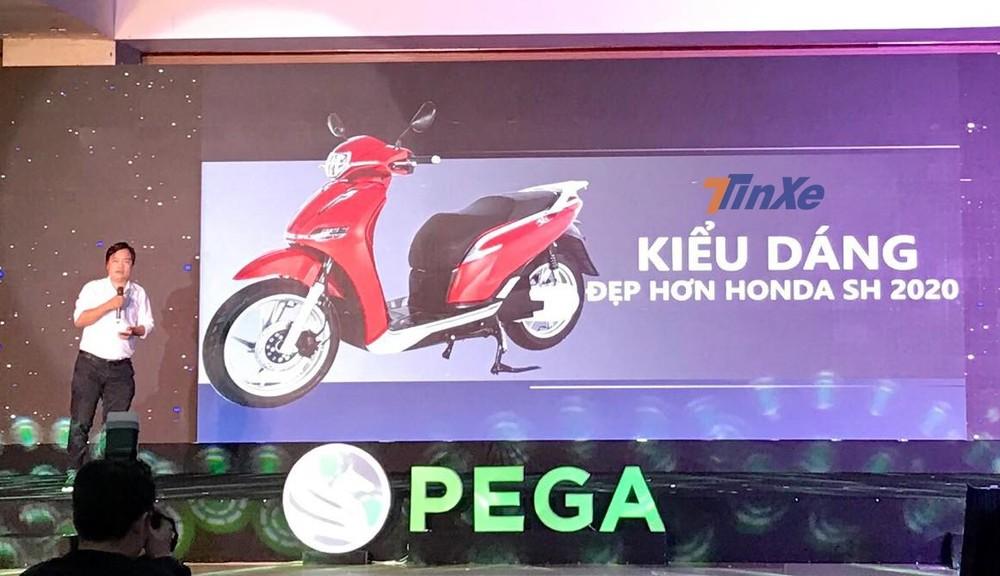 Ông Đoàn Ngọc Linh – CEO của Pega khẳng định thiết kế của eSH đẹp hơn Honda SH 2020
