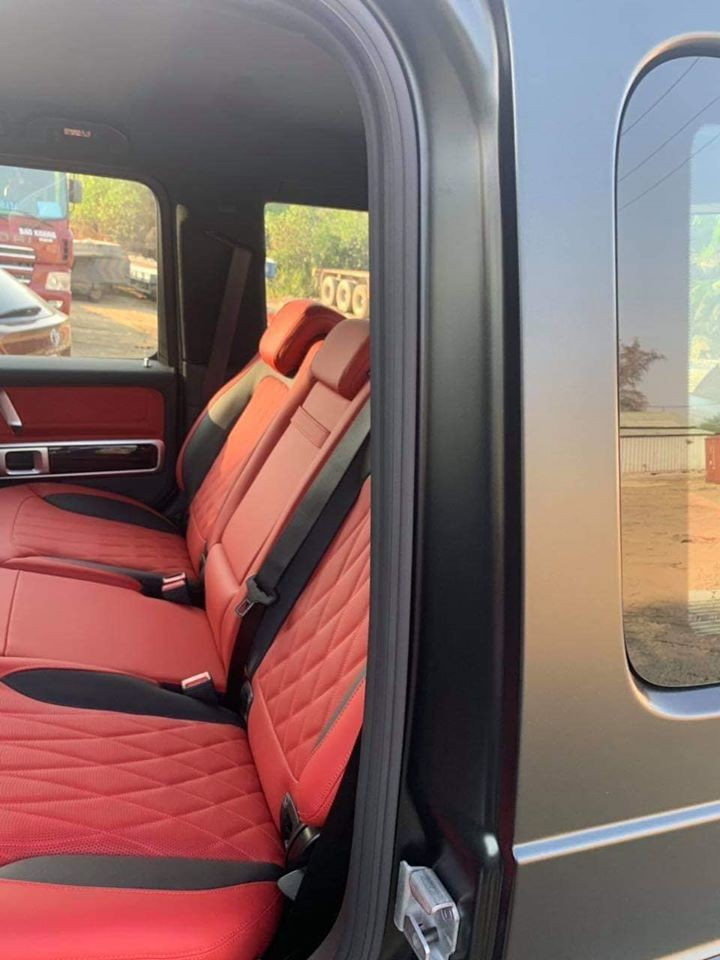 Chiếc SUV hạng sang Mercedes-AMG G63 2019 này được nhập khẩu không chính hãng