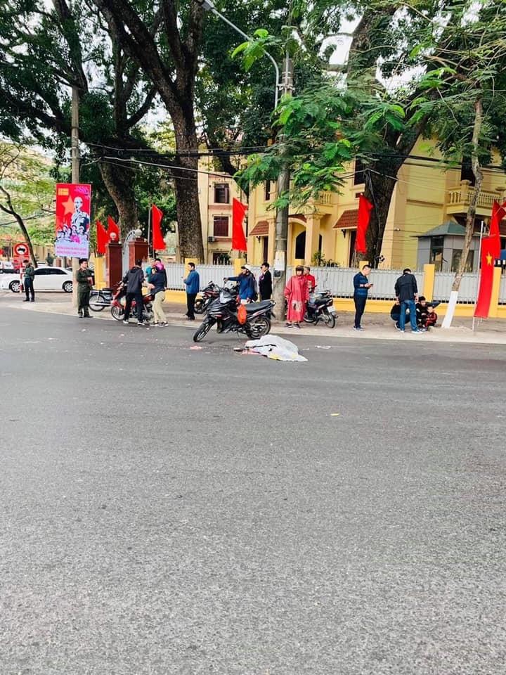 Vụ tai nạn xảy ra tại ngã tư Lê Đại Hành của thành phố Hải Phòng