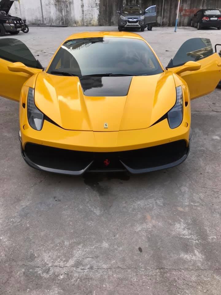 Ferrari 458 Italia độ body kit Misha Designs độc nhất Việt Nam đang nằm trong garage của doanh nhân Hải Phòng