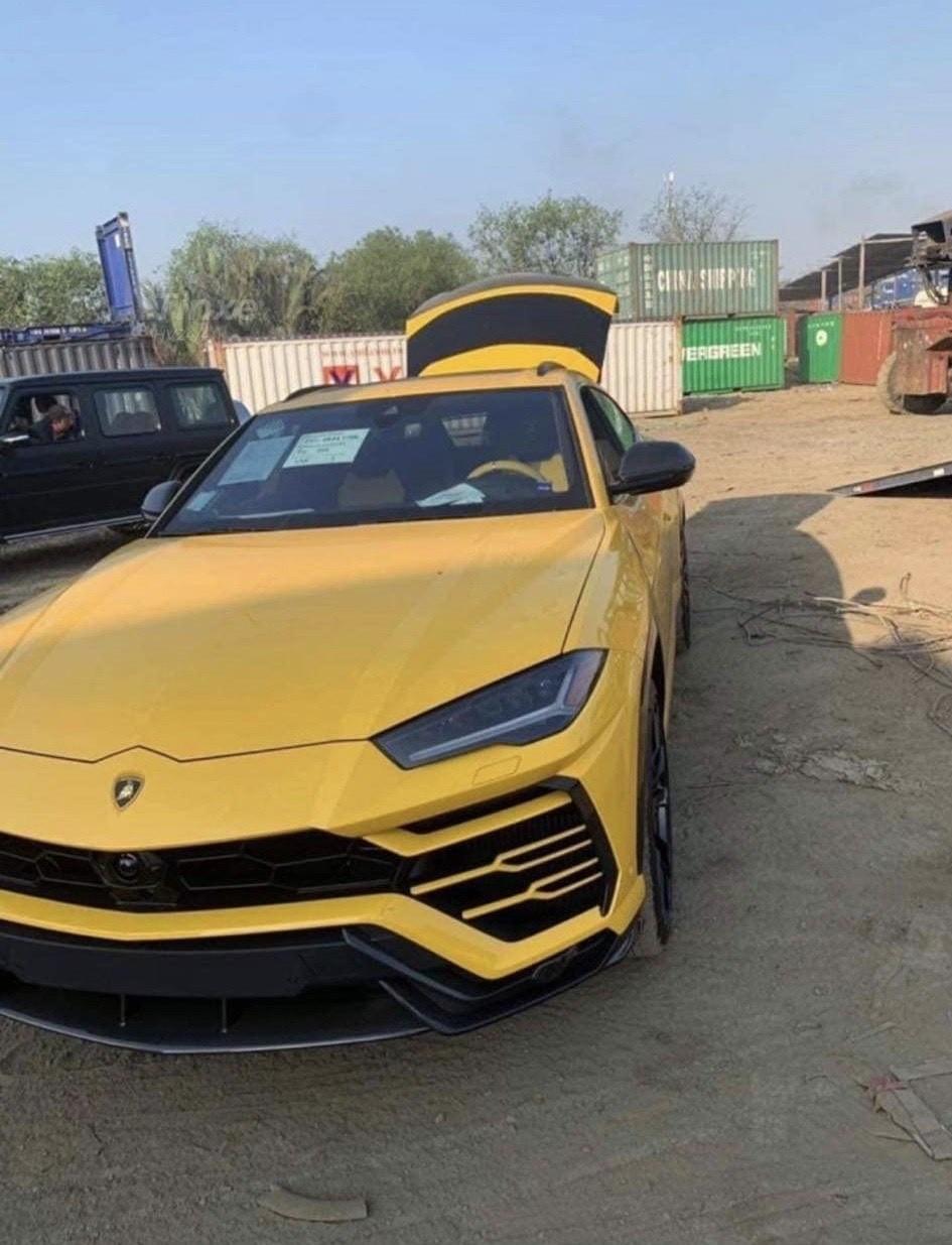 Đây nhiều khả năng là chiếc Lamborghini Urus của con trai Bầu Hiển đặt mua