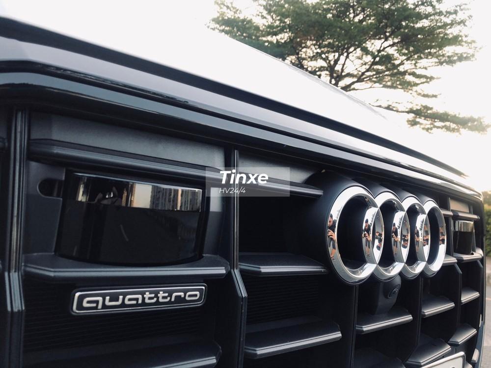 Ngoại hình Audi Q8 2019 gây ấn tượng với lưới tản nhiệt Singleframe thể thao