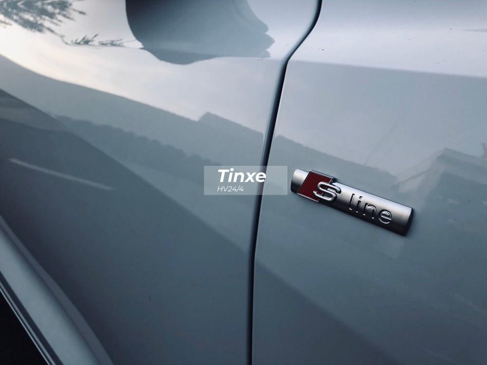Chiếc Audi Q8 2019 màu trắng độc nhất tại Sài thành có gói ngoại thất S-Line