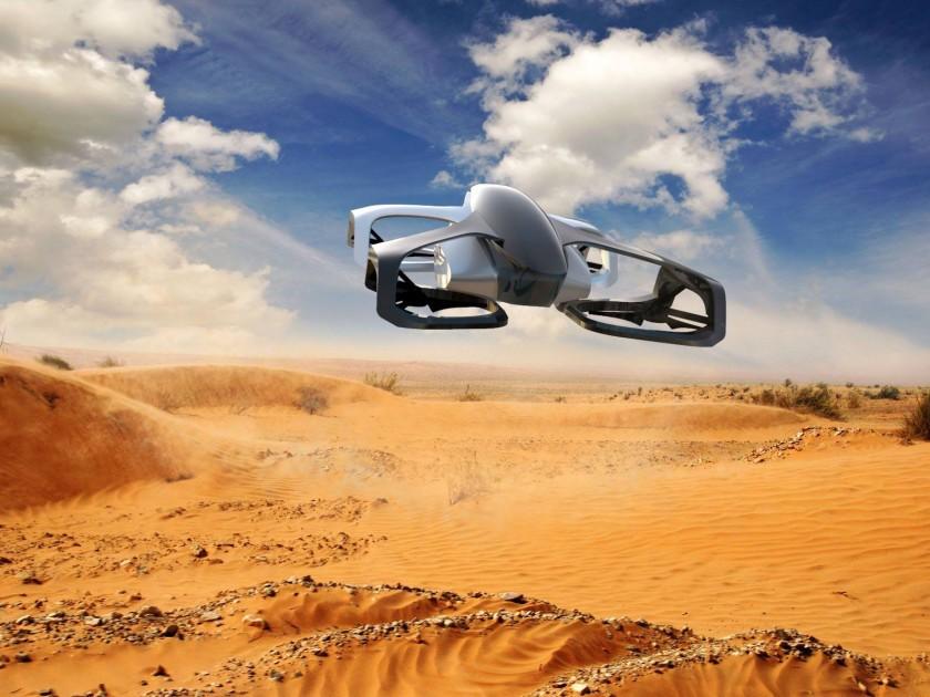Xe bay SkyDrive sẽ là loại có kích thước nhỏ nhất thế giới