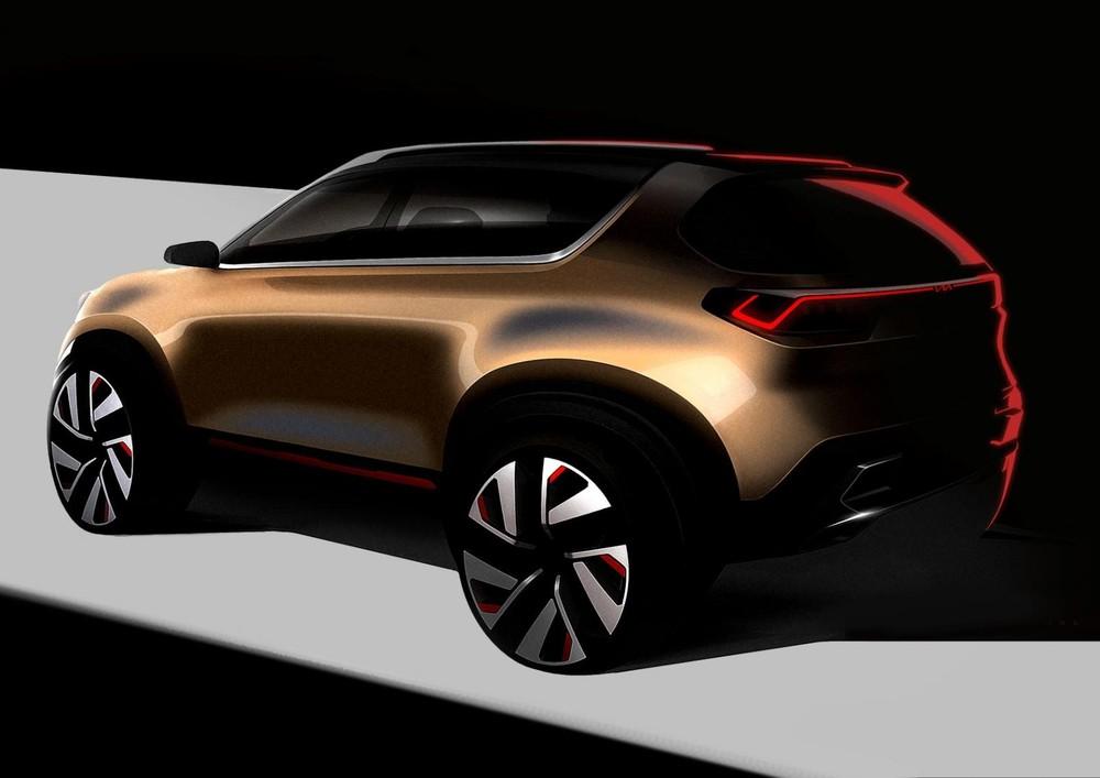 Kia Sonet ra mắt trong triển lãm Auto Expo 2020 tại Ấn Độ vào tháng sau mới chỉ là xe concept