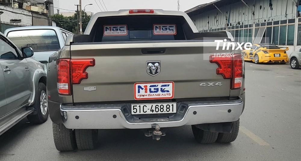 Hiện đây vẫn là chiếc xe bán tải hạng nặng Dodge Ram 3500 Heavy Duty độc nhất vô nhị có mặt tại Việt Nam. Chiếc xe này hay xuất hiện trong các cuộc đua off-road hay các giải đua xe đạp.