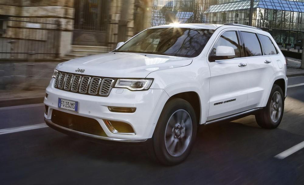 EU đã yêu cầu Fiat triệu hồi Jeep Grand Cherokee trên toàn Châu Âu để sửa lỗi