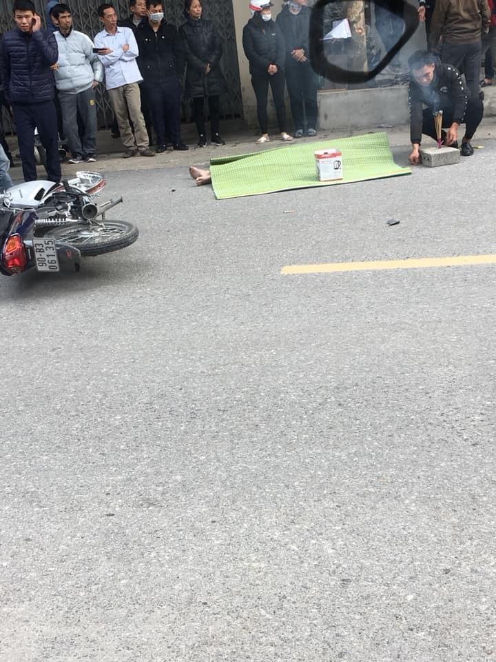 Hiện trường vụ tai nạn tại Hà Nam