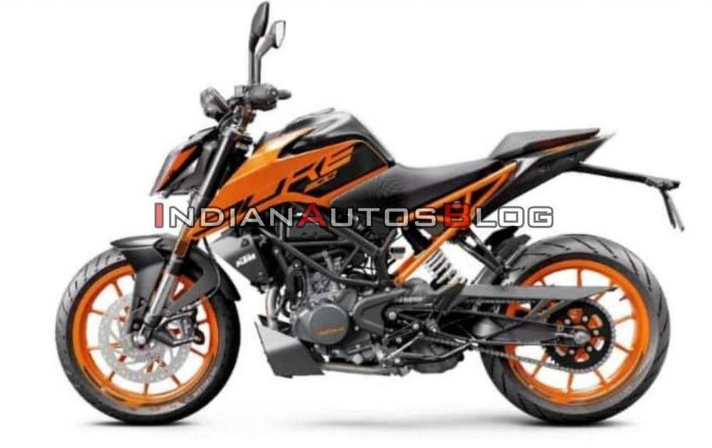 KTM 200 Duke 2020