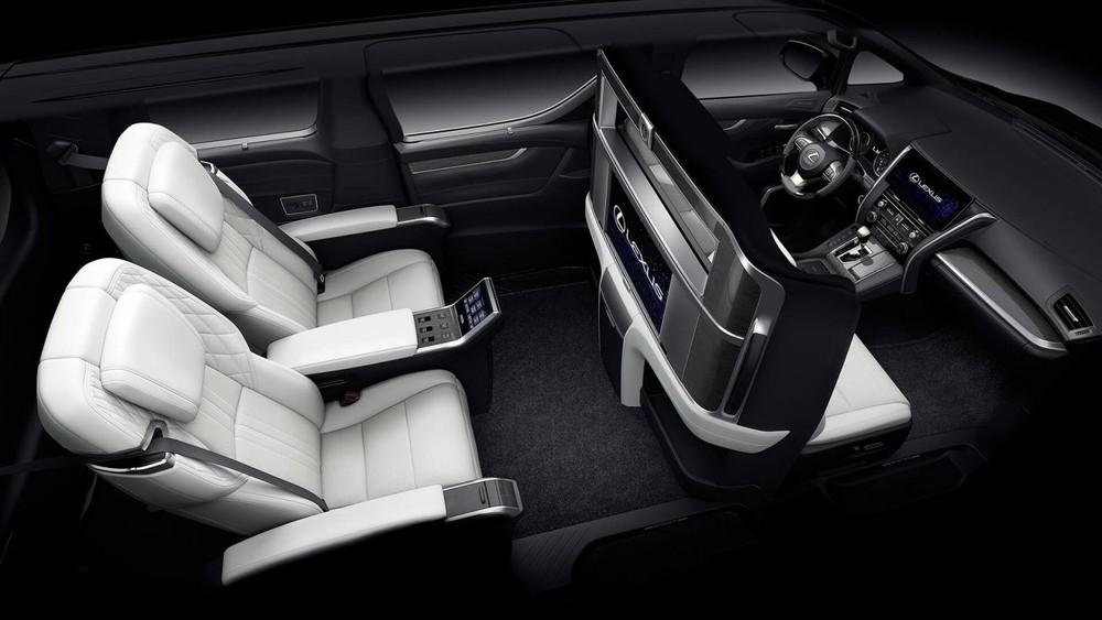 Nội thất của Lexus LM 2020 bản 4 chỗ
