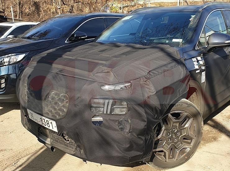 Hyundai Santa Fe phiên bản mới xuất hiện trên đường thử tại Hàn Quốc