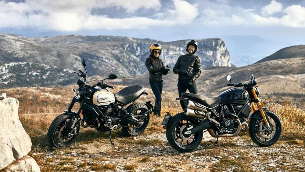 Hai phiên bản Ducati Scrambler 1100 Pro và 1100 Sport Pro mới