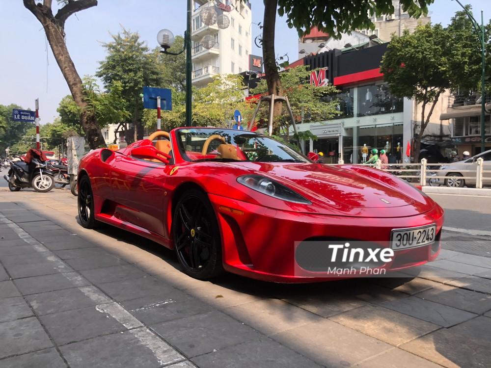 Ferrari F430 Spider là mẫu xe mui trần thương mại thứ 21 của gia đình ngựa chồm.