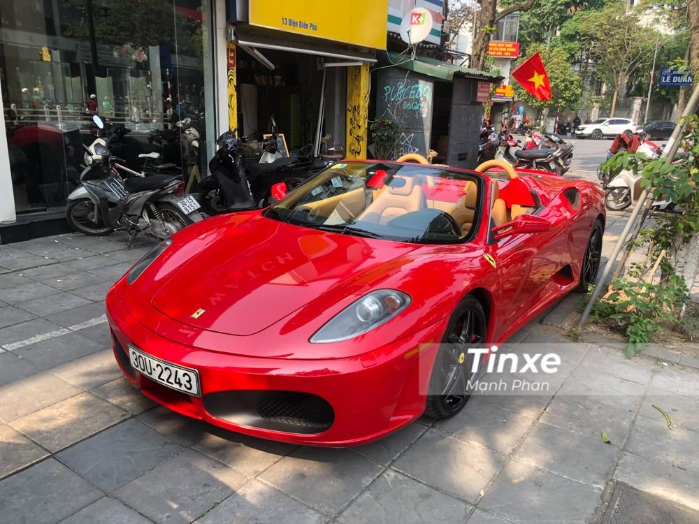 Được biết là số lượng siêu xe mui trần Ferrari F430 Spider tại Việt Nam không quá 5 chiếc