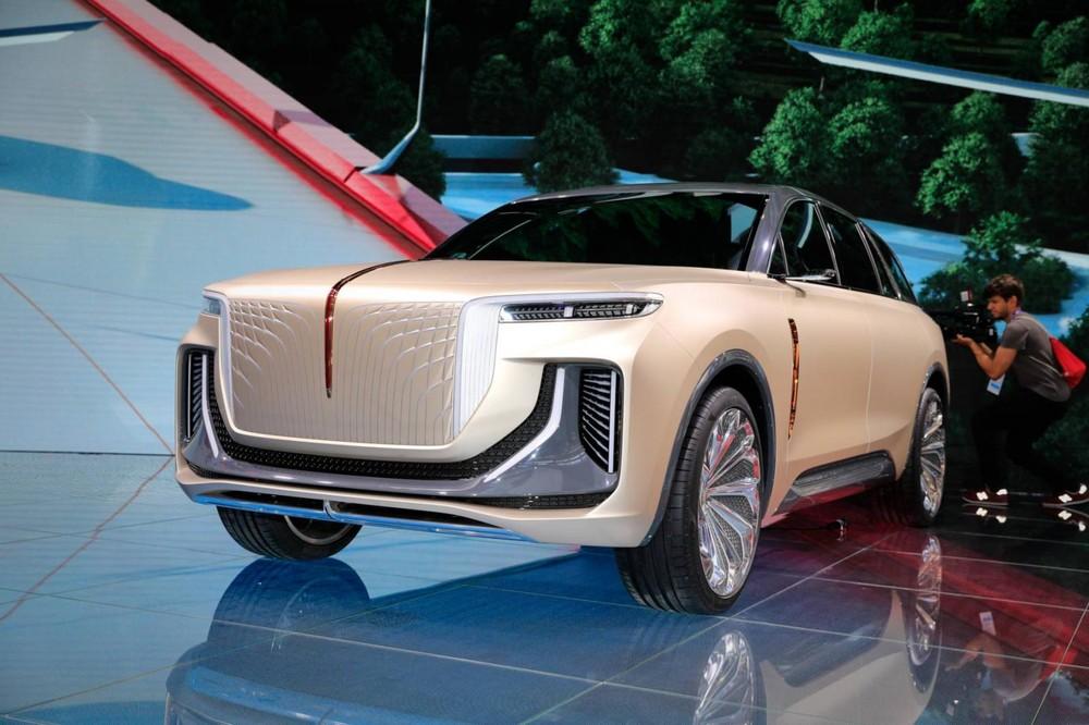 Hồng Kỳ E115 ra mắt trong triển lãm Ô tô Frankfurt 2019