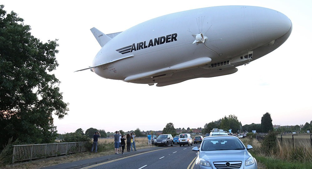 Airlander 10 prototype tested in 2017