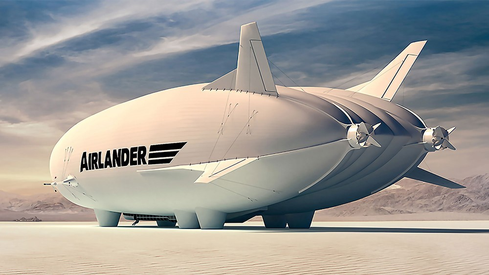 Image rendering new design of Airlander 10