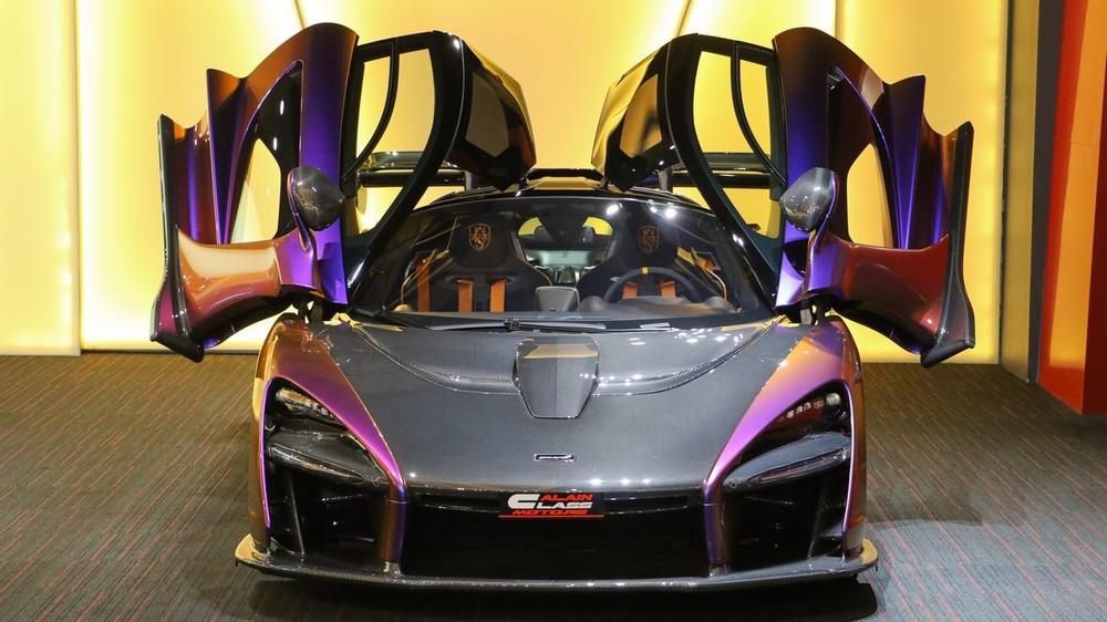 Cận cảnh McLaren Senna mà doanh nhân quận 12 đặt mua