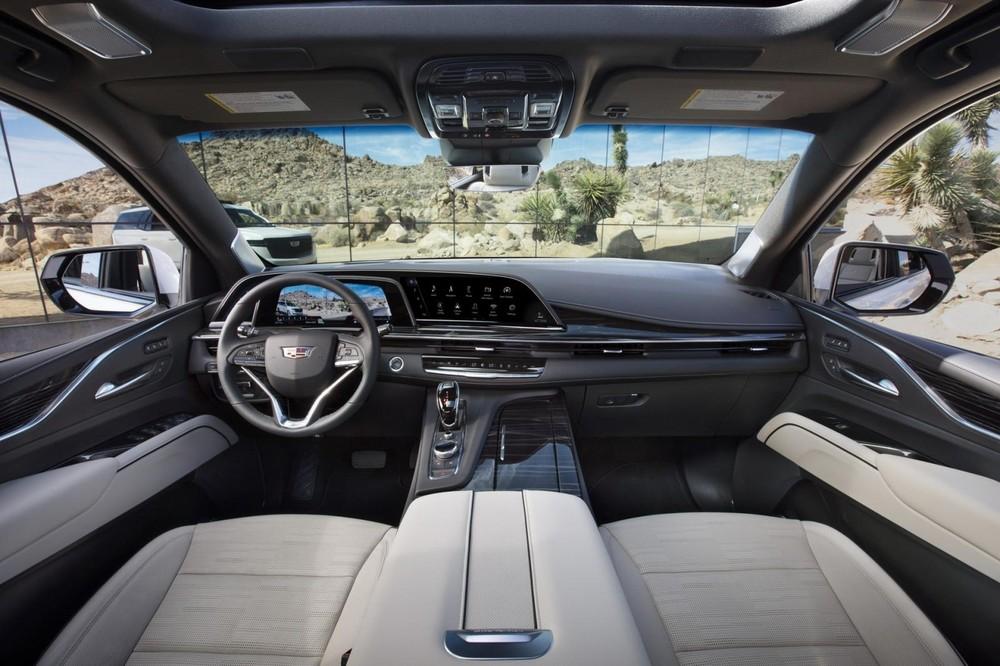 Nội thất bên trong Cadillac Escalade 2021